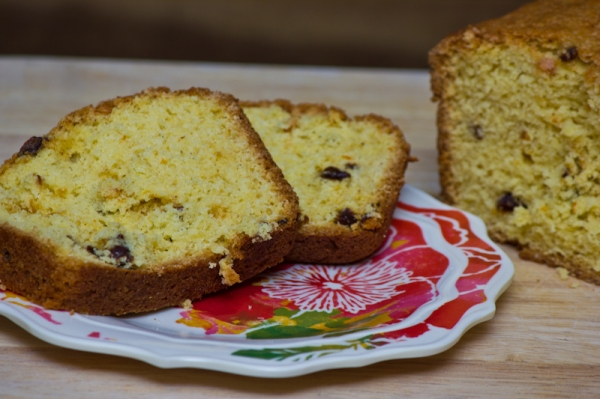Ginger orange quick bread